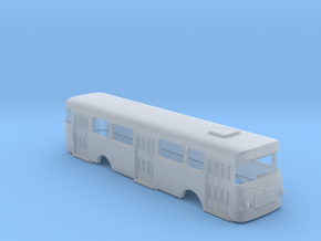 Roman 112 U Bus Body Scale 1:160 in Smooth Fine Detail Plastic