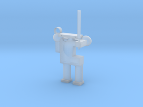 Robot in Smooth Fine Detail Plastic