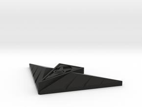 TimeFire Buckle in Black Natural Versatile Plastic