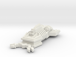 ! - Ram Ship - Concept B  in White Natural Versatile Plastic