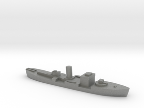 HMS Gloxinia corvette 1:2400 WW2 in Gray PA12