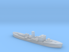 HMS Gloxinia corvette 1:1800 WW2 in Smoothest Fine Detail Plastic