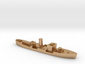 HMS Gloxinia corvette 1:1800 WW2 in Natural Bronze