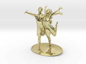 Joyful Couple 2019 in 18k Gold Plated Brass