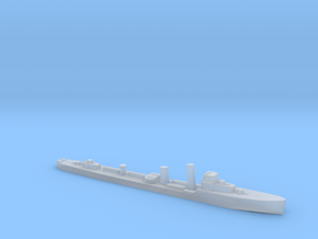HMS Wessex 1:1800 WW2 naval destroyer in Smoothest Fine Detail Plastic