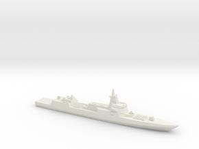 055 Destroyer (2017), 1/2700 in White Natural Versatile Plastic
