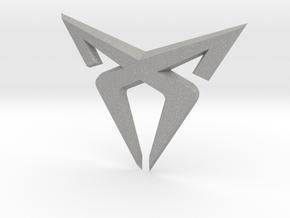 Cupra Logo Front FLAT in Aluminum