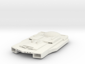Jockett Class Battleship  in White Natural Versatile Plastic
