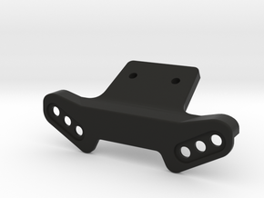 RC10 B6.1 Shock Protector / Front Wing Mount in Black Natural Versatile Plastic