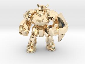 Starcraft 1/60 Terran Marauder Armored Soldier in 14K Yellow Gold
