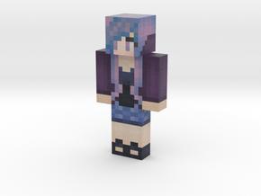 Purpletastic | Minecraft toy in Natural Full Color Sandstone