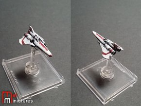 Colonial Viper Mk II 1/270  in White Strong & Flexible