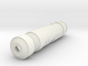 Vanquish Sniper Silencer (Hollow 14mm-) in White Natural Versatile Plastic