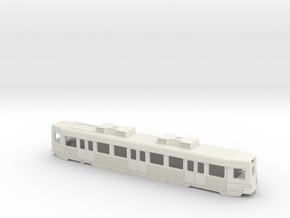 Hong Kong Light Rail N size (back) in White Natural Versatile Plastic