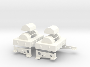 1.6 FLAIR SENSORS FOR CHINOOK X2 in White Processed Versatile Plastic