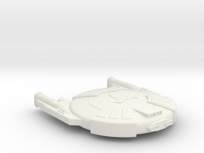 3788 Scale Andromedan Cobra Destroyer SRZ in White Natural Versatile Plastic