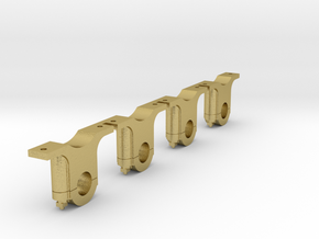 AB06 - Festiniog Railway Inside Bearing Axleboxes  in Natural Brass