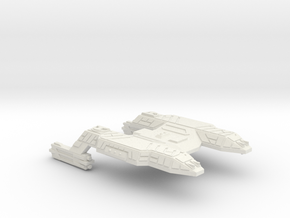 3125 Scale Lyran Java Tiger Heavy Command Cruiser  in White Natural Versatile Plastic