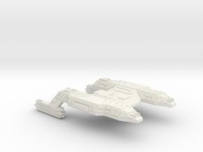3125 Scale Lyran Java Tiger Heavy Command Cruiser  in White Natural Versatile Plastic