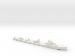 HMS Velox LR Escort 1:3000 WW2 in White Natural Versatile Plastic