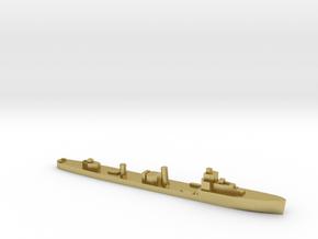 HMS Velox LR Escort 1:3000 WW2 in Natural Brass