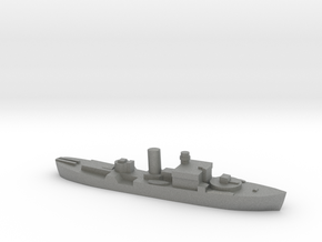HMS Begonia corvette 1:2400 WW2 in Gray PA12