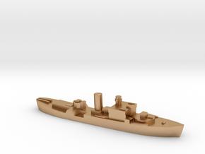 HMS Begonia corvette 1:1800 WW2 in Natural Bronze