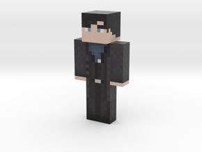 DAVER_BLUE | Minecraft toy in Natural Full Color Sandstone