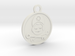 The Hierophant in White Natural Versatile Plastic