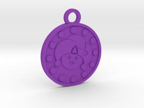 The Fool in Purple Processed Versatile Plastic
