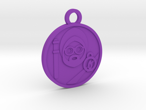 The Hermit in Purple Processed Versatile Plastic