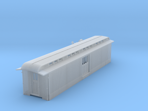 D&RGW modern baggage body with Delco power in Smooth Fine Detail Plastic