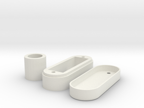 knop 747 klein in White Natural Versatile Plastic