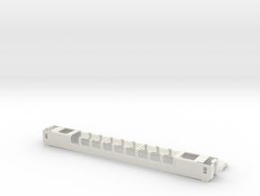 Gotthard Panoramawagen Scale TT in White Natural Versatile Plastic
