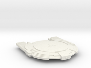 3788 Scale Andromedan Intruder Cruiser SRZ in White Natural Versatile Plastic