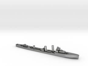 HMS Walpole destroyer-SR escort 1:2400 WW2 in Natural Silver