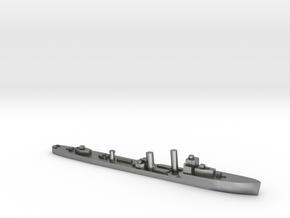 HMS Walpole destroyer-SR escort 1:3000 WW2 in Natural Silver