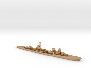Raimondo Montecuccoli light cruiser 1:2400 WW2 in Natural Bronze