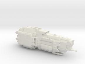UNSC Valiant Super Heavy Cruiser 1:7000 scale in White Natural Versatile Plastic