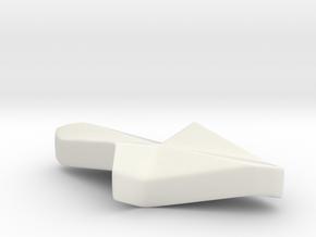 Illusion arrow in White Premium Versatile Plastic