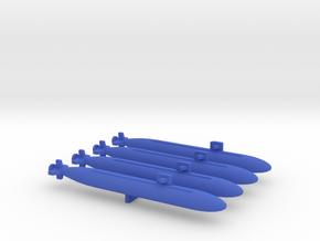 """Unknown"" BLUE SUB MARKER set 1 in Blue Processed Versatile Plastic"