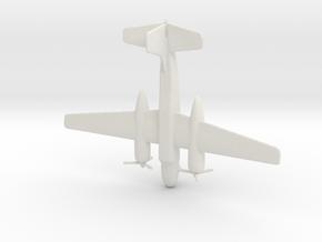 1:350 A-26 Invader  in White Natural Versatile Plastic
