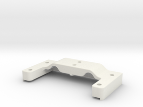 TRX-3/TCP/SRT/LS2 Lipo Compatible Chassis Brace in White Natural Versatile Plastic