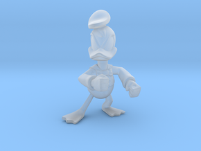 Angry Duck in Smooth Fine Detail Plastic