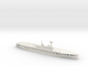 British Aircraft Carrier Eagle in White Natural Versatile Plastic