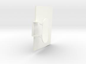 1.4 HUGHES 500D COCKPIT (C) in White Processed Versatile Plastic
