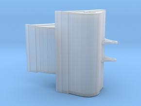 V1 Nederlandse brede en meterse bak voor 13-18 ton in Smooth Fine Detail Plastic