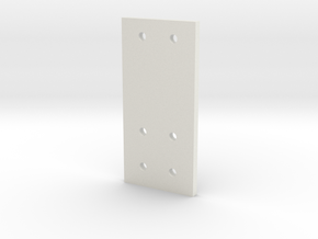 3 Gear Laydown Hole Guide V2 in White Natural Versatile Plastic