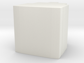 Blank Prime Core in White Natural Versatile Plastic