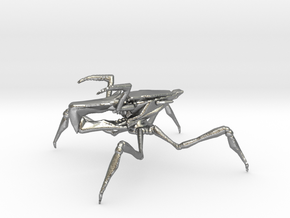 Starship Troopers Arachnoid 1/60 for games and rpg in Natural Silver